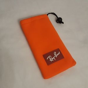 Ray-ban soft case orange authentic